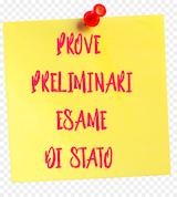 Esami preliminari Esami di stato